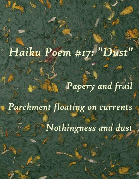 """Haiku, """"Dust"""""""