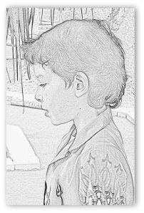 Sam, age 9